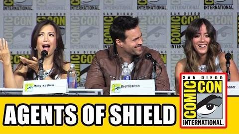 Agents of SHIELD Comic Con 2015 Panel
