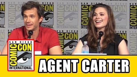 Agent Carter Comic Con Panel - Hayley Atwell, James D'Arcy