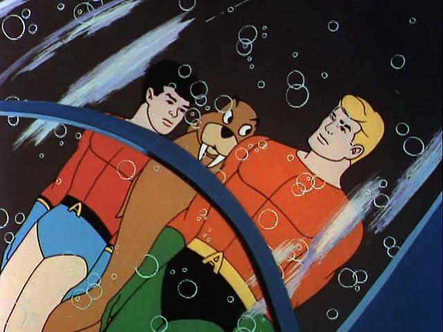 Filmation 1967: The Adventures Of Aquaman s1 ep32 The War Of The Quatix And The Bimphars