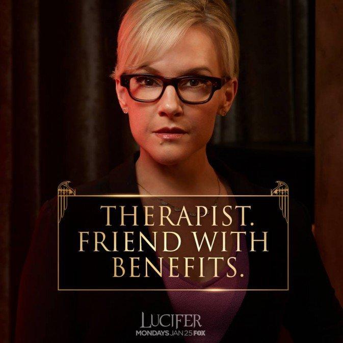 Lucifer Linda: VERTIGO COMICS: Fox's Lucifer Bio Dr. Linda Martin