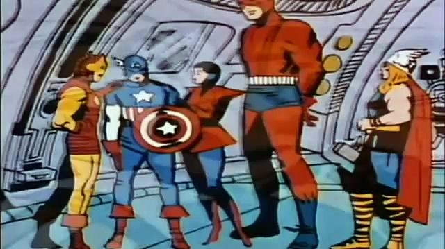 1966 The Marvel Super Heroes: Captain America 1966 (ep 5 Zemo and The Masters Of Evil)