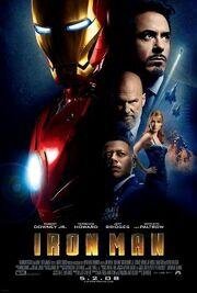 Ironman 1 poster
