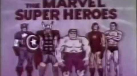 Marvel Super Heroes (1966) - Opening Theme and Titles