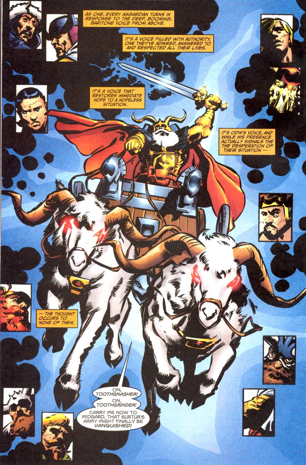 marvel comics wiki odin