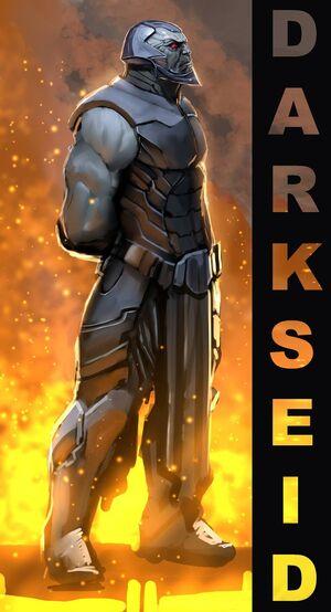 Darkseid doodle by nebezial
