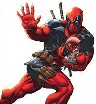 Deadpool-and-zombie-head