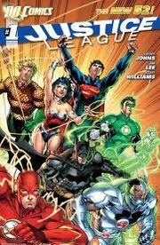 Justice League Comic Cover