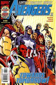 Avengers Comic Cover