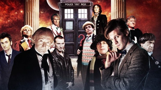 File:The Tardis and the Doctors.jpeg