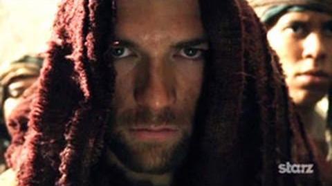 Spartacus Vengeance - Comic-Con Teaser