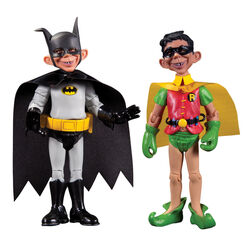 Alfred e. neuman batman robin