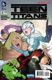 Teen Titans Vol 5 2 b