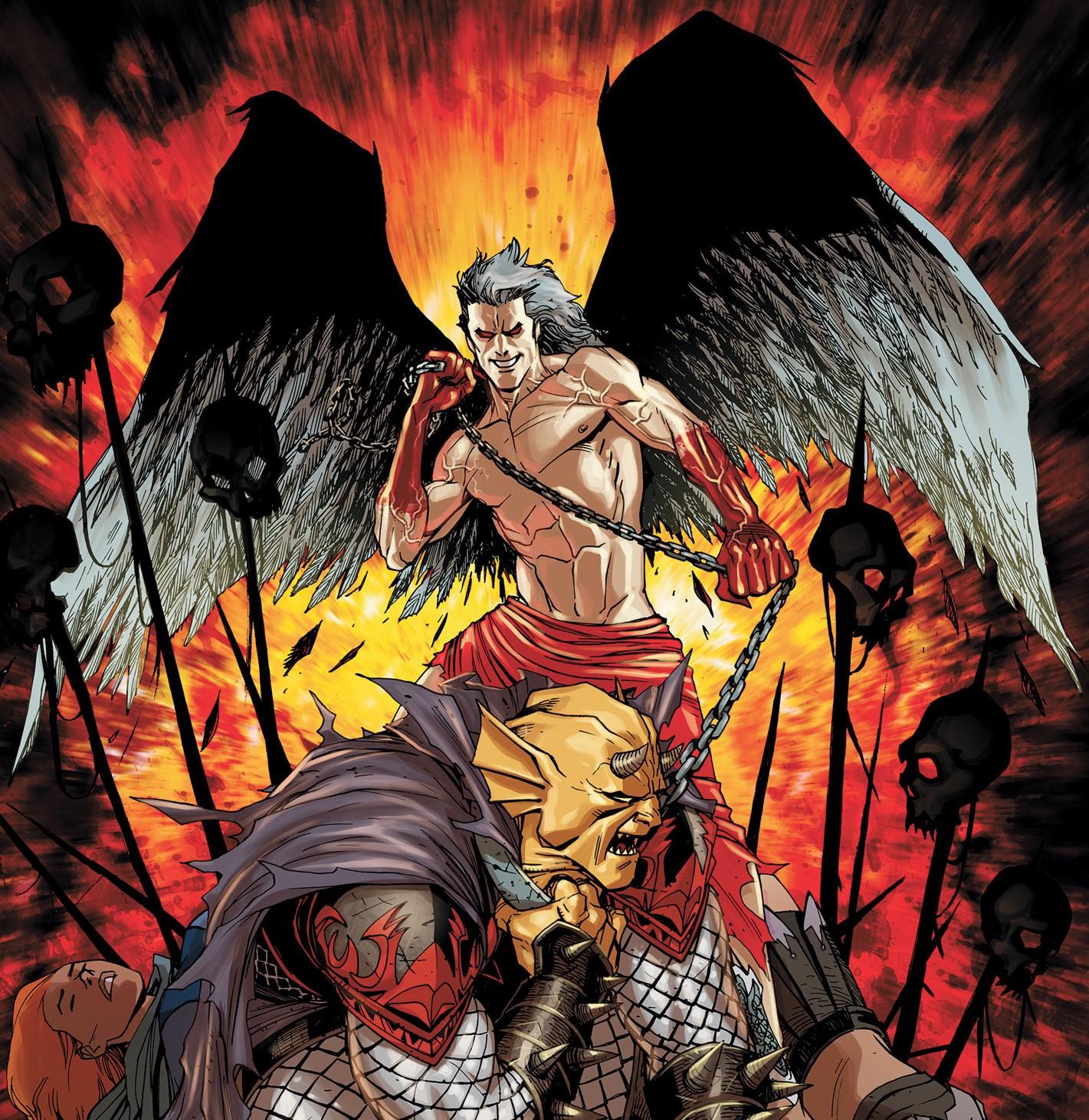 Lucifer Morningstar Dc Comics: Lucifer Morningstar (Tierra 0)