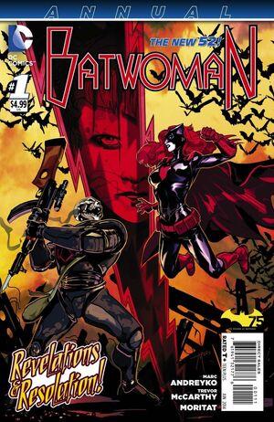 Batwoman Vol 2 Anual 1