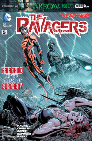 The Ravagers Vol 1 5