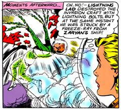 Muerte de Lightning Lad