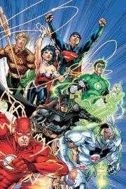 Justice League (Tierra 0) 001