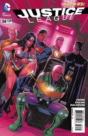 Justice League Vol 2 34 b