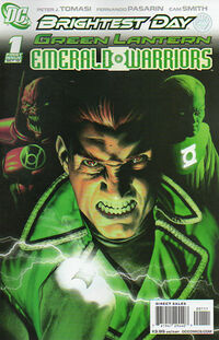 Green Lantern Emerald Warriors 1