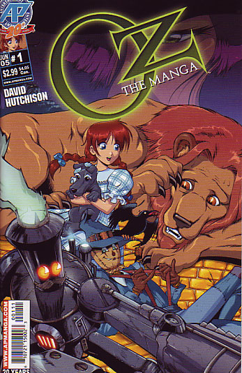 manga oz wizard comic anime comics japanese books issue furry series wiki valley wikia cover fandom rabbit dorothy sequence pages