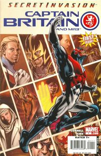 Captain Britain and MI 13 1