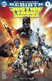 Justice League of America 1 2017