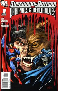 Superman and Batman vs Vampires and Werewolves 1