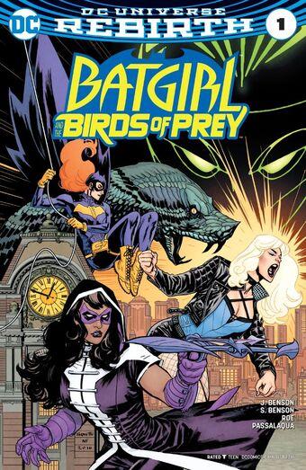 Birds Of Prey Comic Book Series Fandom