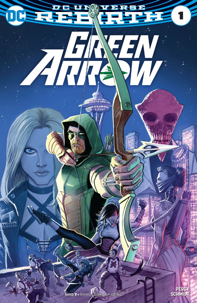 Green Arrow Comic Book Series Fandom Powered By Wikia