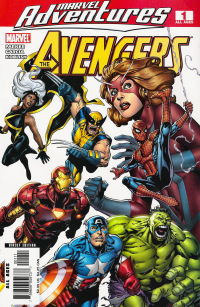 Marvel Adventures The Avengers 1