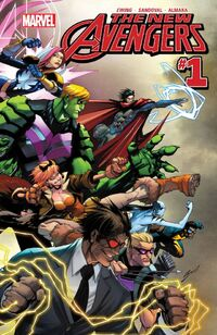 New Avengers 2015 1