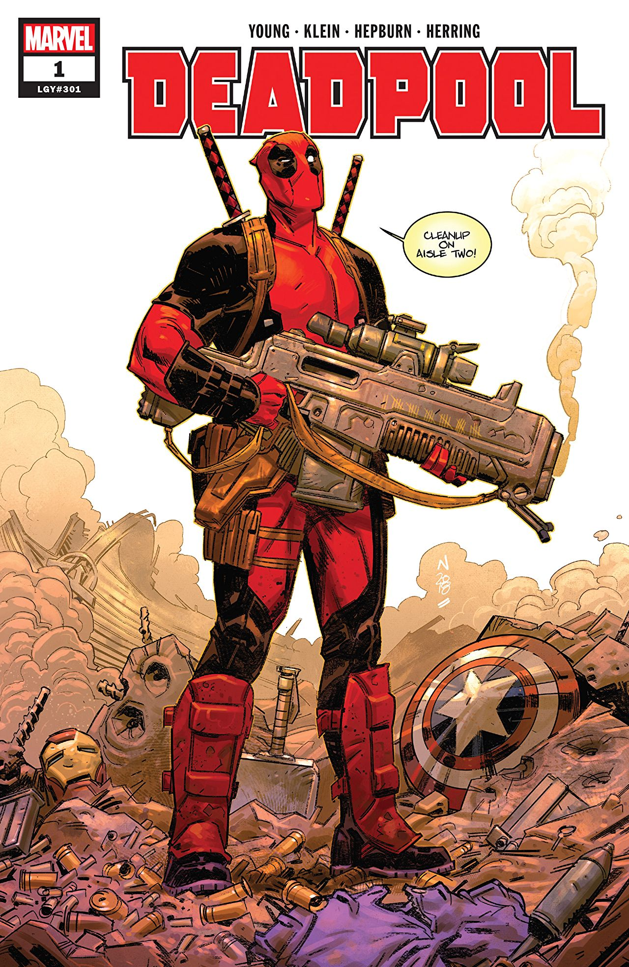 deadpool comics
