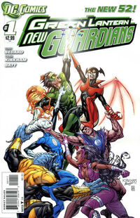 Green Lantern New Guardians 1