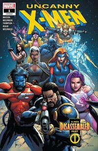 Uncanny X-Men 1 2018