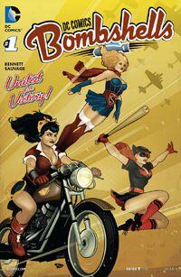 DC Comics Bombshells 1