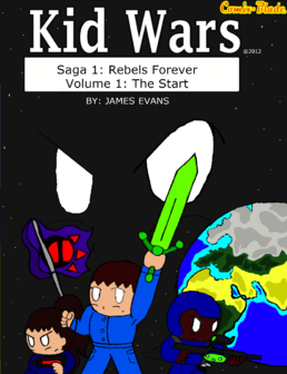 Kid Wars Volume 1 cover
