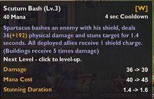 Scutum Bash 3