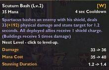 Scutum Bash 2
