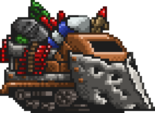 Commando Rush Booty Trapped Vehicle