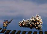 Shooting the Poncho-25 burst
