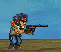 Holding the MC-5 Defender Silenced.png