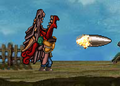 Commando 2 shooting the Dragon Destructor.png