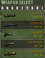 Weapon Category F