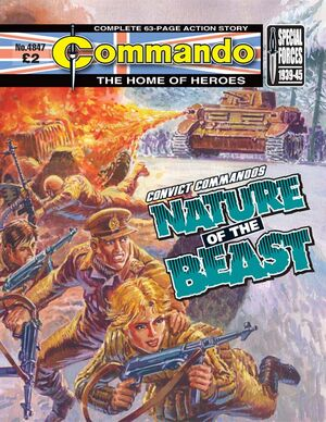 4847 convict commandos nature of the beast