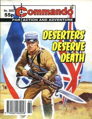 3003 deserters deserve death