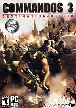 Commandos 3 - Destination Berlin Coverart2