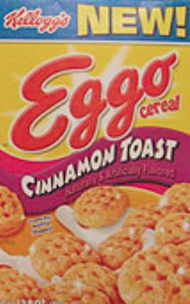 Eggo Cinnamon Toast Cereal