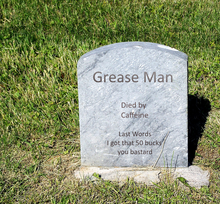 Grease grave