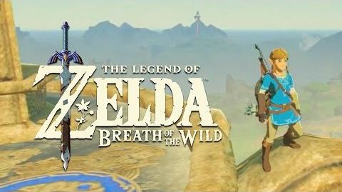 Official Exploration Gameplay - The Legend of Zelda Breath of the Wild