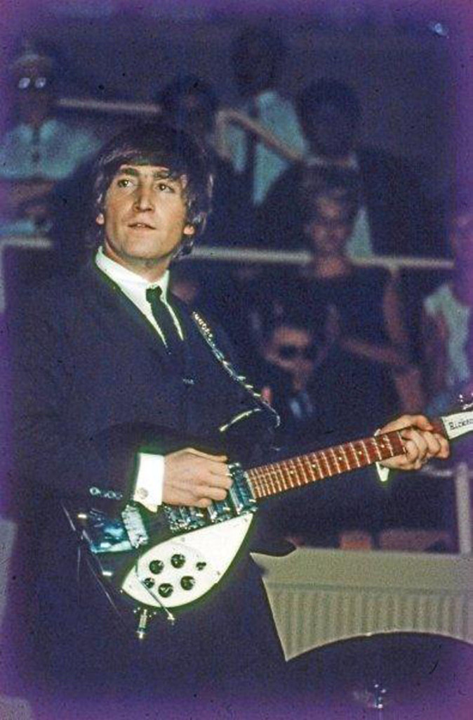 John Lennon Unpublished Early Color Photographs Beatles 8RCGQymdCsxx